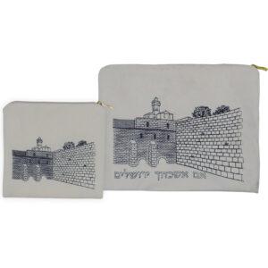סט טלית ותפילין סדרת ירושלים 112